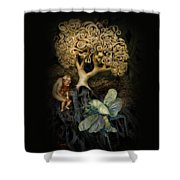 Naked And Afraid Shower Curtain