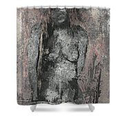 Naked Woman But Not Sexy Woman N.2 Shower Curtain