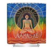 Namaste' Shower Curtain