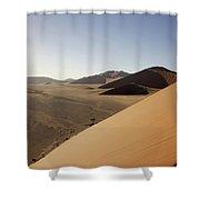 Namibia Sossusvlei 2 Shower Curtain