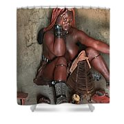 Namibia Tribe 1 Shower Curtain