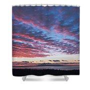 Nanabijou Sunrise Shower Curtain