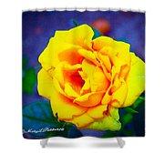 Nana's Yellow Rose Shower Curtain