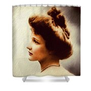 Nancy Witcher Langhorne Astor Shower Curtain