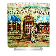 Nancys Fine Pastries Shower Curtain