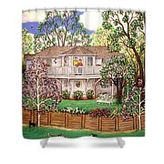 Nancy's House Shower Curtain