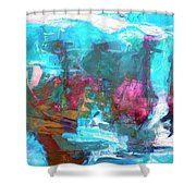 Nanda Devi Shower Curtain