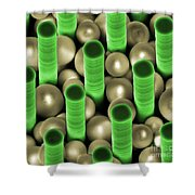 Nanoparticle Trapping, Nanotechnology Shower Curtain