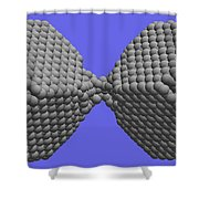 Nanoscale Ductility, 1 Of 2 Shower Curtain