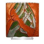 Nansamba - Tile Shower Curtain