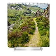 Nant Ffrancon Footpath Shower Curtain