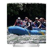 Nantahala River Rafting Shower Curtain