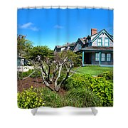 Nantucket Architecture Series 08 Y1 Shower Curtain