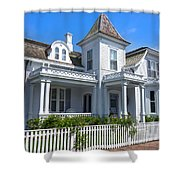 Nantucket Architecture Series 5 - Y1 Shower Curtain