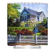 Nantucket Architecture Series 7 - Y1 Shower Curtain