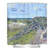 Nantucket June Dunes I Shower Curtain