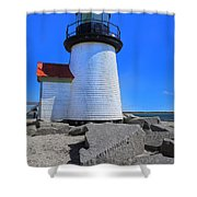Nantucket Lighthouse Y1 Shower Curtain