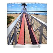 Nantucket Lighthouse - Y2 Shower Curtain