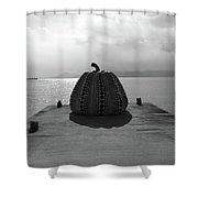Naoshima Shower Curtain