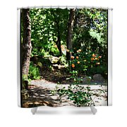 Napa Rose Pathway Shower Curtain