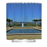 Napa Valley Inglenook Vineyard -4 Shower Curtain