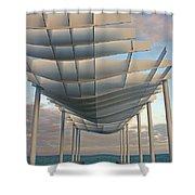 Napier Pier 2016 Shower Curtain