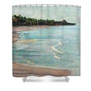 Naples Beach Shower Curtain