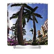Naples Florida V Shower Curtain