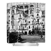 Naples Italy - C 1901 Shower Curtain