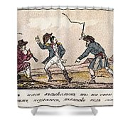 Napoleon: Russian Campaign Shower Curtain