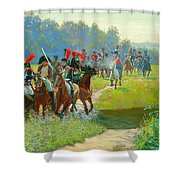 Napoleon Shower Curtain
