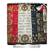 Napoleonic Flag Shower Curtain