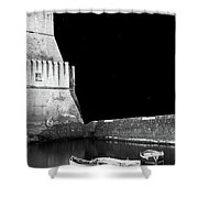 Napoli By Night Shower Curtain