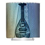 Napolitan Mandolin Shower Curtain