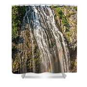 Narada Falls Rainbow Shower Curtain
