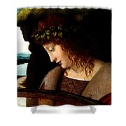 Narcissus Detail Shower Curtain