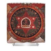 Naropa Mandala Shower Curtain