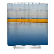 Narrabeen Dunes Shower Curtain