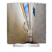 Narrow Alley In Cusco Shower Curtain