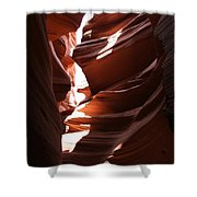 Narrow Canyon Ix Shower Curtain