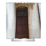 Narrow Door Shower Curtain