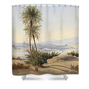 Naser In The Province Of Sukot Shower Curtain