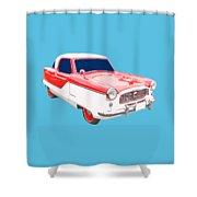 Nash Metropolitan Tee Shower Curtain