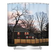 Nashua House Shower Curtain by Michael Tesar
