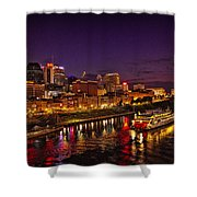 Nashville And General Jackson Shower Curtain