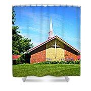 Nashville Baptist Church Shower Curtain