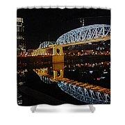 Nashville Bridge Shower Curtain