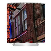 Nashville Crossroads Music City  Shower Curtain