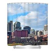 Nashville Panorama View Shower Curtain