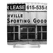 Nashville Sporting Goods Shower Curtain